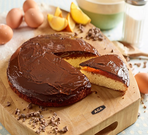 giant jaffa cake homemade