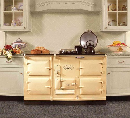 TRADITIONAL 4 OVEN AGA IN CREAM